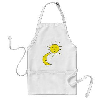 sun and moon standard apron