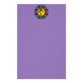sun and moon stationery
