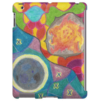 Sun and Moon Stylized Smart Device Case