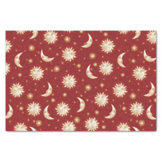 Sun and Moon Tissue Paper