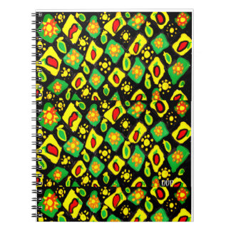 Sun and peppers notebook