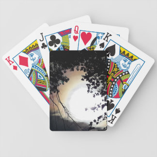Sun And Pin Oaks Bicycle Playing Cards