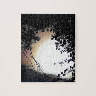Sun And Pin Oaks Jigsaw Puzzle