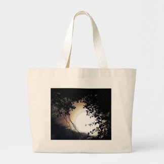 Sun And Pin Oaks Large Tote Bag