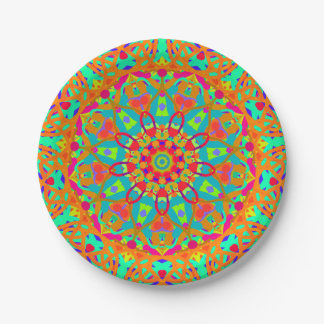 Sun and Sand 7 Inch Paper Plate