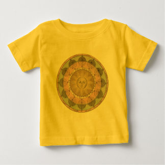 Sun and Seasons Detail from Antique Map circa 1780 Baby T-Shirt