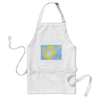 Sun and Sky Sunflower Adult Apron