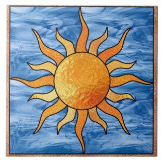 Sun and Sky Tile Trivet