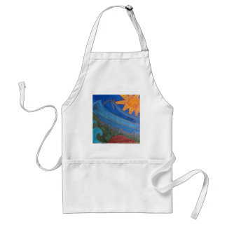Sun and Waves Standard Apron
