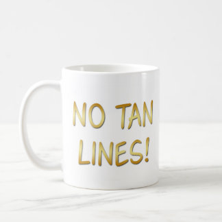 Sun Bathers, No Tan Lines, Naturist/Nudist Coffee Mug