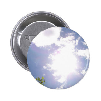 Sun Beam and Clouds Button