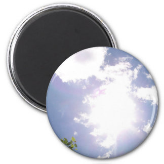 Sun Beam and Clouds Magnet