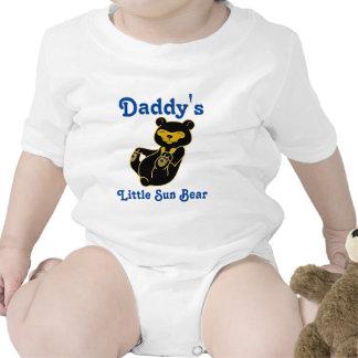 Sun Bear Customizable Kids Shirt with Blue Text