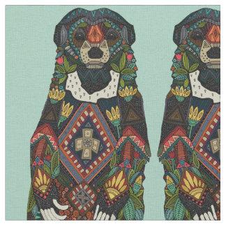 sun bear mint fabric