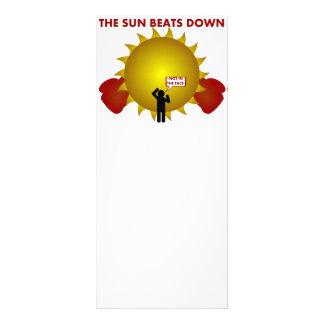 Sun Beatdown Custom Rack Cards