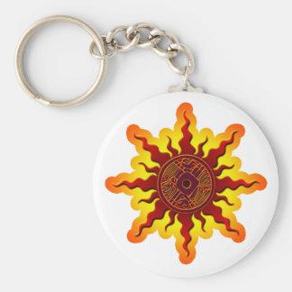 Sun Bird 2 Keychain
