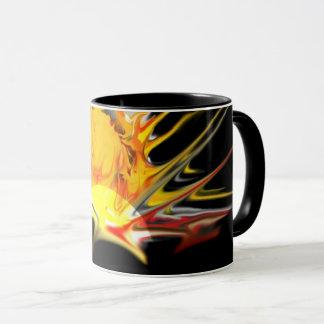 sun burst mug