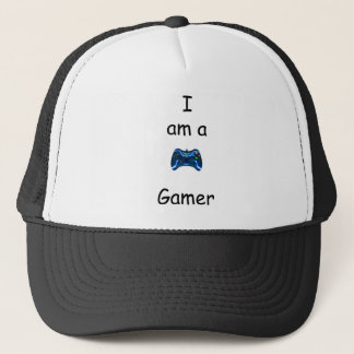 Sun Cap 'I am a Gamer'