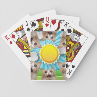 Sun Cat Deck Playing Cards