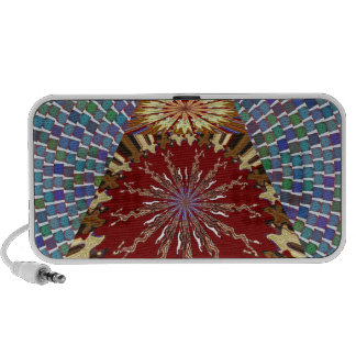 SUN Chakra with 1000 moons Artistic Fantasy GIFTS Laptop Speakers