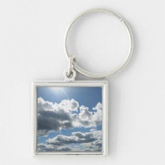 Sun Clouds Key Chains