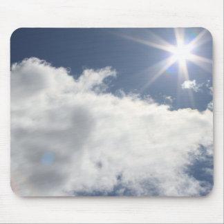 Sun & Clouds Mouse Pad