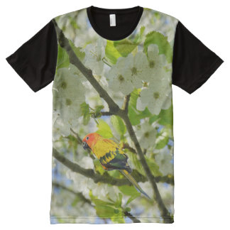 Sun Conure All-Over Print T-Shirt