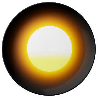 Sun Decorative Porcelain Plate Image