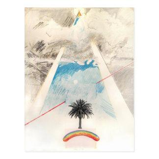 Sun Dog, Rockne Krebs, 1976. Postcard