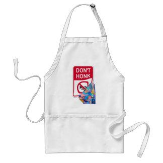 Sun Don't Honk Adult Apron
