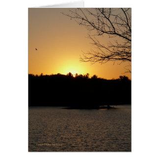 Sun Down Card