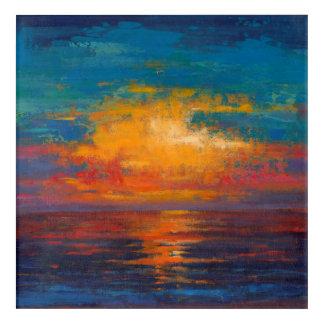 Sun Down II Acrylic Wall Art