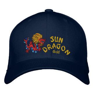 Sun Dragon Golf Embroidered Hat