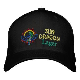 Sun Dragon, Lager Embroidered Baseball Cap