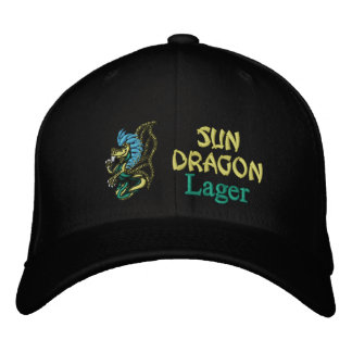 Sun Dragon, Lager Embroidered Hat