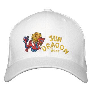 Sun Dragon Surf Embroidered Baseball Caps