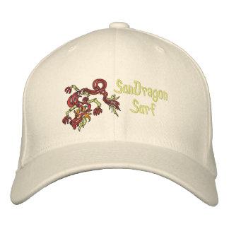 Sun Dragon Surf Embroidered Hats