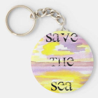 Sun Drama Save the Sea CricketDiane Ocean Products Key Chain