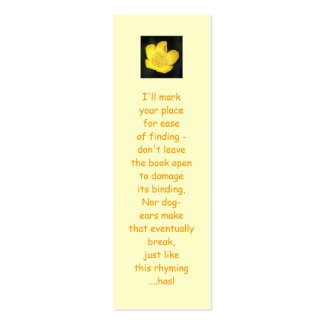 Sun Drenched Golden Buttercup Business Card
