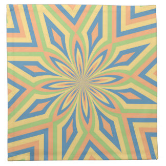 Sun Drenched Star Flower Napkins