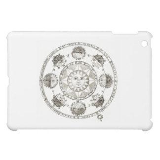 Sun ellipse design iPad mini cases