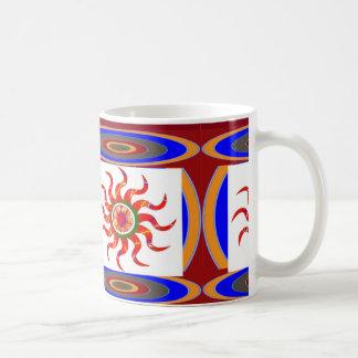 SUN Energy Chakra Graphics Basic White Mug