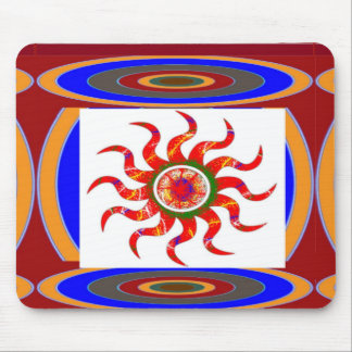 SUN Energy Chakra Graphics Mouse Pad