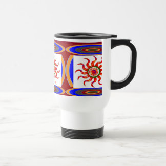 SUN Energy Chakra Graphics Stainless Steel Travel Mug