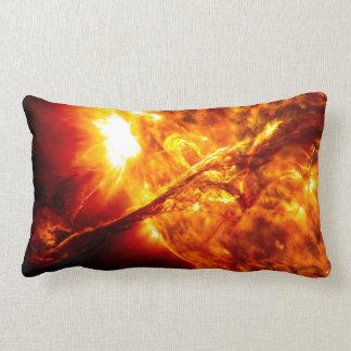 Sun Eruption - Giant Prominence Lumbar Cushion