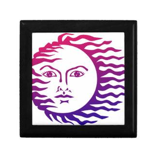 Sun Face Gift Box