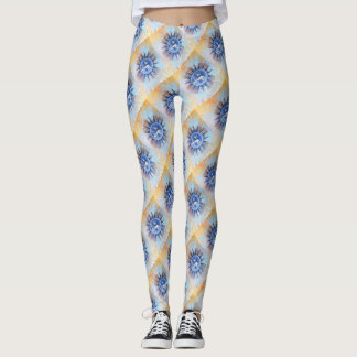 Sun face Leggings