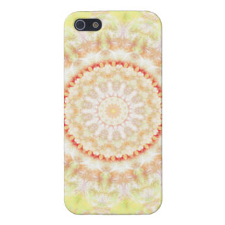 Sun Fire Mandala kaleidoscope iPhone 5 Covers