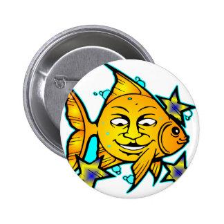 Sun Fish & Stars Buttons