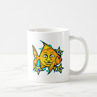 Sun Fish & Stars Mugs